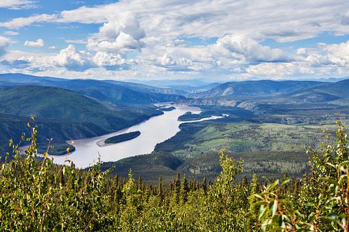 Yukon「Yukon River Canada」:スマホ壁紙(10)