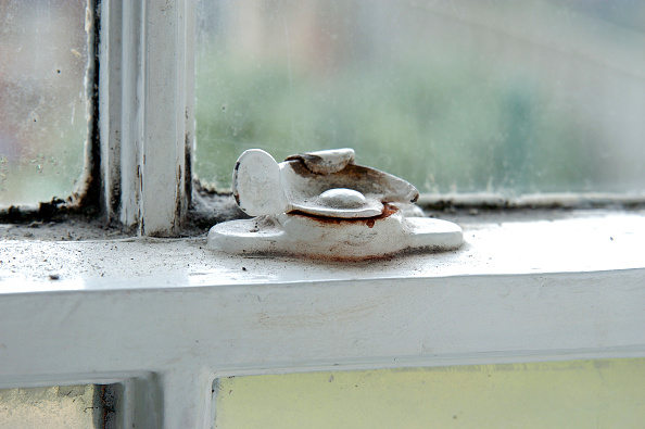 Window Sill「Damaged sash window」:写真・画像(3)[壁紙.com]