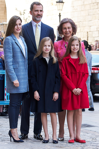 Religious Mass「Spanish Royals Attends Easter Mass In Palma de Mallorca」:写真・画像(11)[壁紙.com]