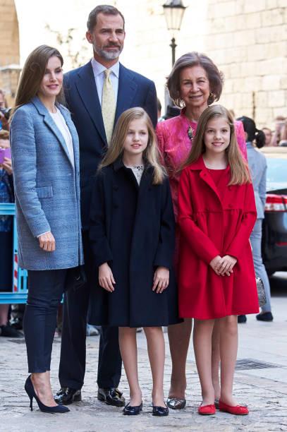 Spanish Royals Attends Easter Mass In Palma de Mallorca:ニュース(壁紙.com)