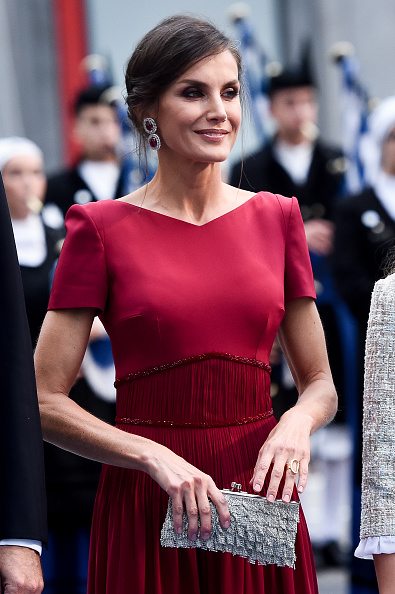 Letizia of Spain「Arrivals - Princess of Asturias Awards 2019」:写真・画像(7)[壁紙.com]
