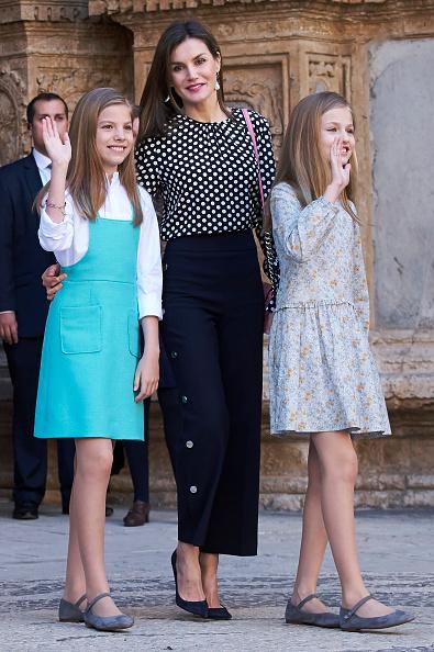 Queen Sofia of Spain「Spanish Royals Attend Easter Mass In Palma de Mallorca」:写真・画像(3)[壁紙.com]