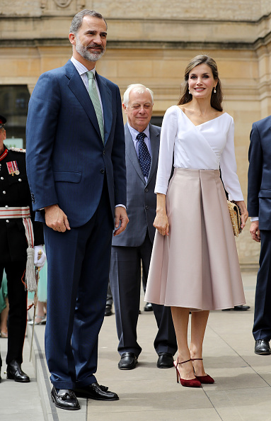 Three People「State Visit Of The King And Queen Of Spain - Day 3」:写真・画像(7)[壁紙.com]