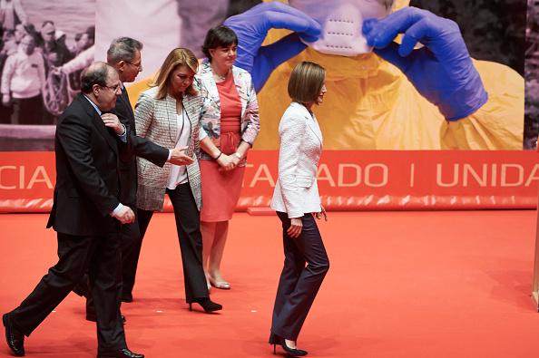 Carlos Alvarez「Queen Letizia of Spain Attends the Red Cross World Day Commemoration in Valladolid」:写真・画像(9)[壁紙.com]