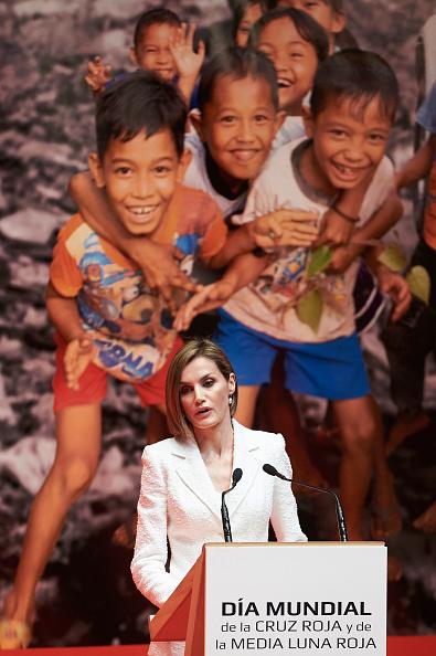 Carlos Alvarez「Queen Letizia of Spain Attends the Red Cross World Day Commemoration in Valladolid」:写真・画像(10)[壁紙.com]