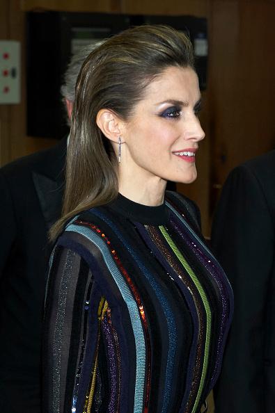 イヤリング「Spanish Royals Attends Official Dinner With 'Mariano De Cavia', Luca De Tena' And 'Mingote' Award's Winners」:写真・画像(18)[壁紙.com]