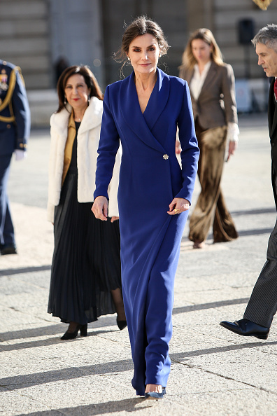 Navy Blue「Spanish Royals Celebrate New Year's Military Parade 2020」:写真・画像(13)[壁紙.com]