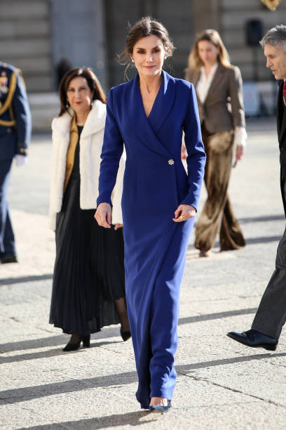Spanish Royals Celebrate New Year's Military Parade 2020:ニュース(壁紙.com)