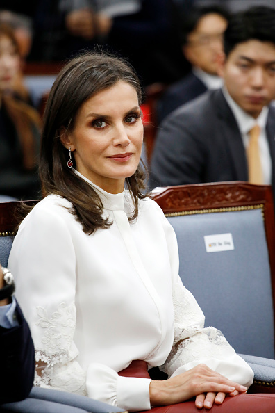 Letizia of Spain「Spanish Royals Visit South Korea - Day 2」:写真・画像(10)[壁紙.com]