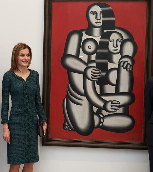 Carlos Alvarez「Queen Letizia Visits Reina Sofia National Museum」:写真・画像(18)[壁紙.com]