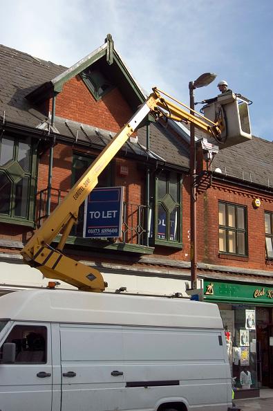 High Angle View「Repairing street lights」:写真・画像(13)[壁紙.com]