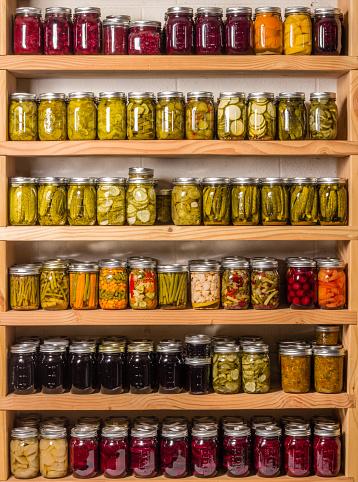 Dessert Topping「Shelves of canned goods」:スマホ壁紙(14)