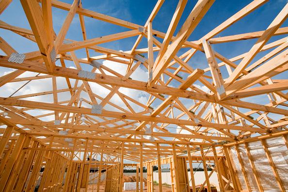 Frame - Border「Constructing new timber framed houses in Echuca, Australia.」:写真・画像(11)[壁紙.com]