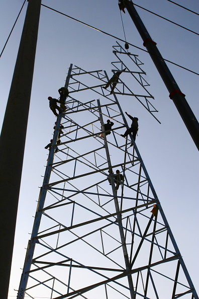 Occupational Safety And Health「Constructing an electricity pylon in Beijing.」:写真・画像(19)[壁紙.com]