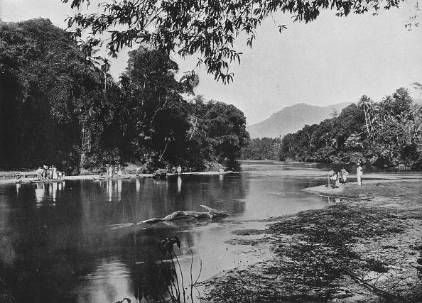 Water Surface「'River at Ratnapura', c1890,」:写真・画像(8)[壁紙.com]