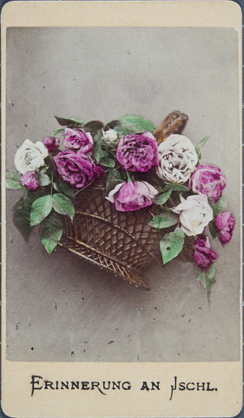 Bouquet「Erinnerung An Ischl. Bouquet Of Peonies. About 1870. Colorized Photograph.」:写真・画像(11)[壁紙.com]