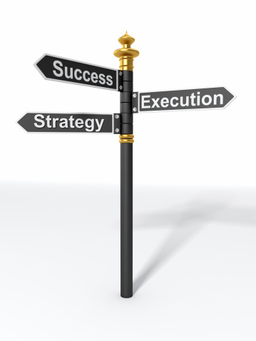 Choosing「Directional Sign Strategy, Execution, and Success」:スマホ壁紙(2)