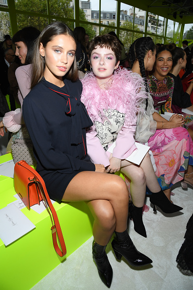 Womenswear「Valentino : Front Row -  Paris Fashion Week - Womenswear Spring Summer 2020」:写真・画像(18)[壁紙.com]