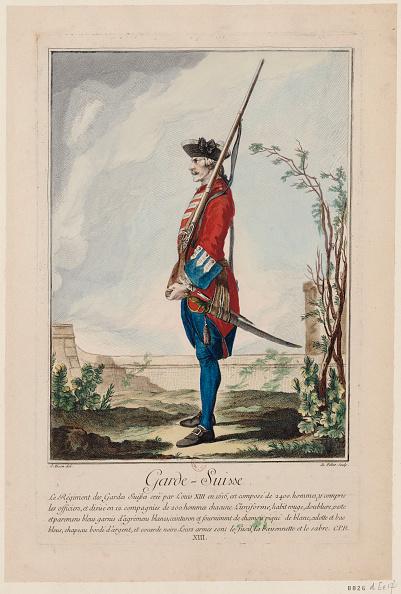 Painted Image「Gardes Suisses (The Swiss Guards)」:写真・画像(14)[壁紙.com]