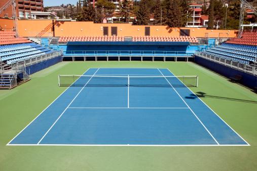 Stadium「Tennis hard court」:スマホ壁紙(0)
