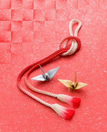 Craft Product「Paper cranes and an obi cord」:スマホ壁紙(4)