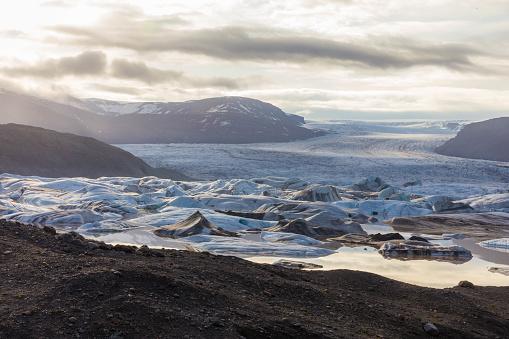 Glacier Bay National Park「Glacier bay during sunset」:スマホ壁紙(16)