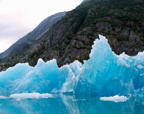 Glacier Bay National Park「Glacier Bay NP, edge of Reid Glacier, Alaska.」:スマホ壁紙(13)
