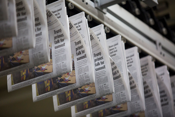 Waiting「New Tariffs On Canadian Newsprint Expected To Drive Up Costs For U.S. Newspapers」:写真・画像(16)[壁紙.com]