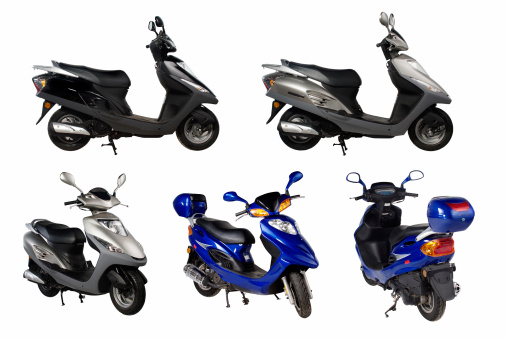 Motorcycle「スクーター」:スマホ壁紙(15)