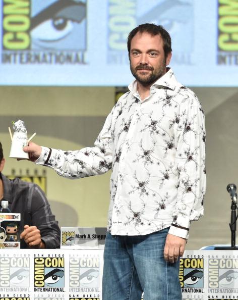 "San Diego Convention Center「CW's ""Supernatural"" Panel - Comic-Con International 2014」:写真・画像(3)[壁紙.com]"