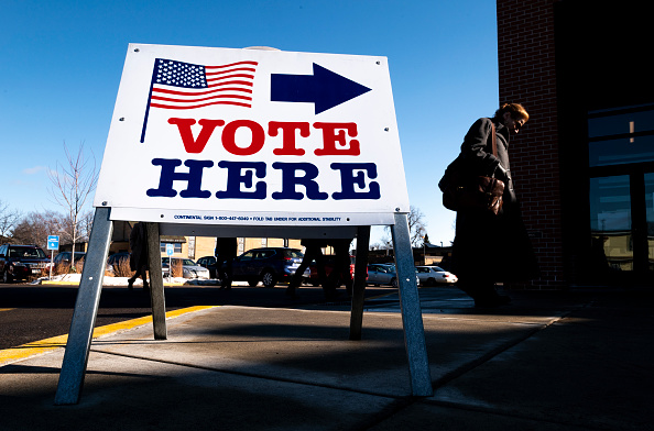 Voting「Voters In 14 States Head To The Polls On Super Tuesday」:写真・画像(7)[壁紙.com]