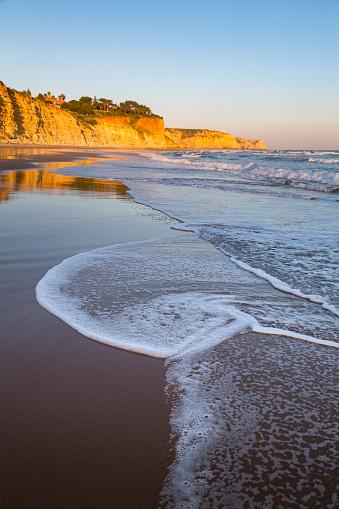 Wave「Praia Porto de Mos in the Algarve」:スマホ壁紙(4)