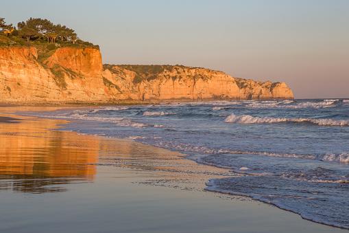 Wave「Praia Porto de Mos in the Algarve」:スマホ壁紙(8)
