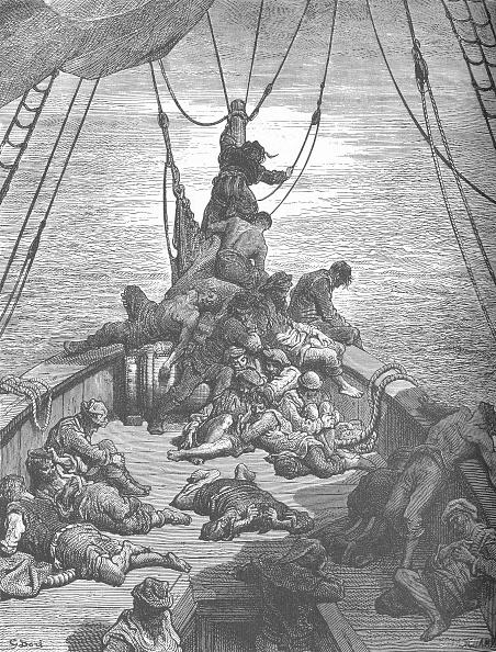 1870-1879「One Of Gustave Dorés Illustrations For The Ancient Mariner C」:写真・画像(7)[壁紙.com]