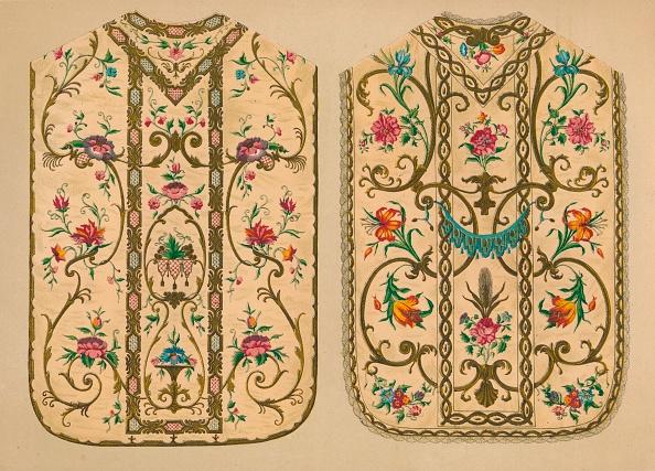 Embroidery「Embroidered Chasubles By Luigi & Ersilia Martini 1893」:写真・画像(16)[壁紙.com]