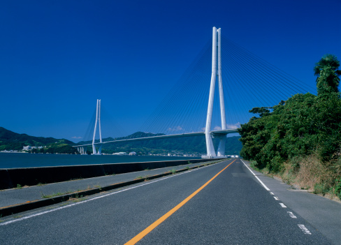 ビーチ「Tatara Bridge, Onomichi, Hiroshima, Japan」:スマホ壁紙(6)