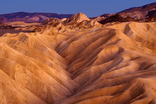 Death Valley Desert「Zabriskie Point Ridges」:スマホ壁紙(17)
