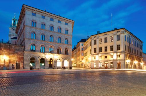 City Life「Night Stockholm, Sweden」:スマホ壁紙(7)