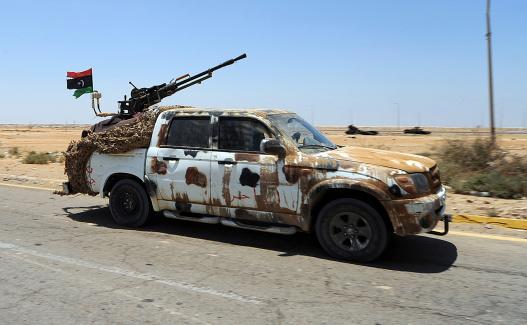 Anti-Aircraft「A Free Libyan Army pickup truck with a ZPU-1 anti-aircraft gun, Ajdabiya, Libya.」:スマホ壁紙(14)