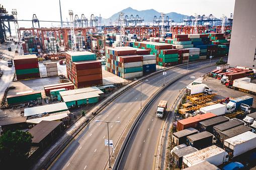 Freight Transportation「Junction in Hong Kong」:スマホ壁紙(18)