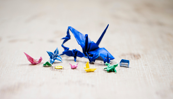 Origami「Tiny Origami Artist」:写真・画像(2)[壁紙.com]