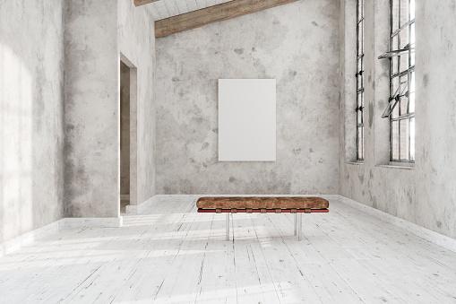Art「Empty Canvas In The Art Gallery」:スマホ壁紙(0)