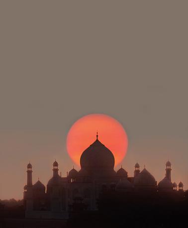 Mausoleum「View of Taj Mahal.」:スマホ壁紙(12)