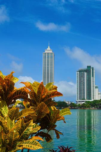 雲「Colombo skyline Beira Lake」:スマホ壁紙(1)