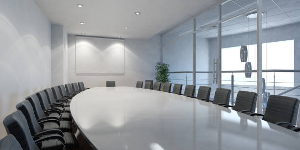 A corporate boardroom where all important meetings are held:スマホ壁紙(壁紙.com)