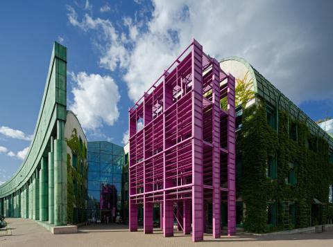 Warsaw「Warsaw University Library」:スマホ壁紙(13)