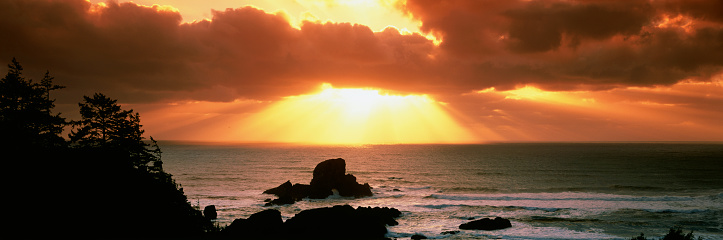 Ecola State Park「Sunset at Ecola State Park」:スマホ壁紙(16)