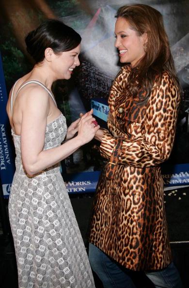 "Leopard Print「""Shark Tale"" Premiere - Green Room」:写真・画像(1)[壁紙.com]"