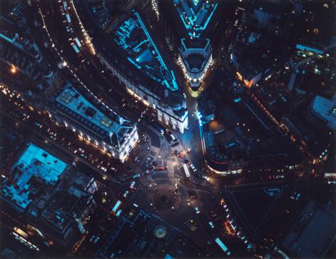 Downtown District「City of London aerial」:スマホ壁紙(4)