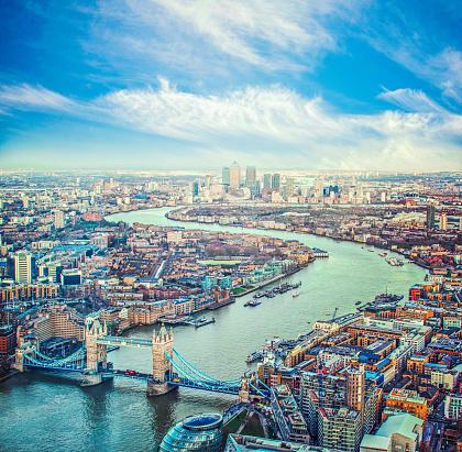 London Bridge - England「City of London skyline」:スマホ壁紙(6)
